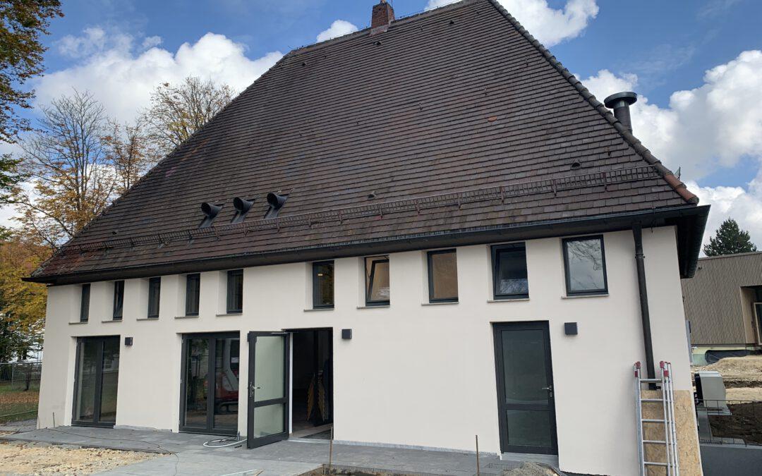 Fertigstellung Patientencafe am Bezirksklinikum Günzburg im November 2020